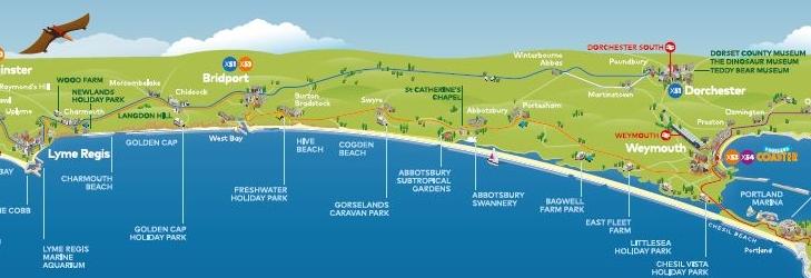 Jurassic Coaster Map