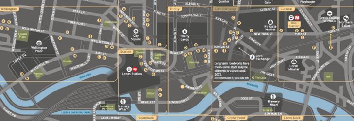 Leeds City Centre Map