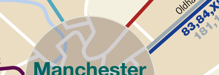 Manchester City Centre - from 27 October 2019