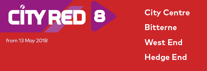 City Red 8 - from 13 May 2018