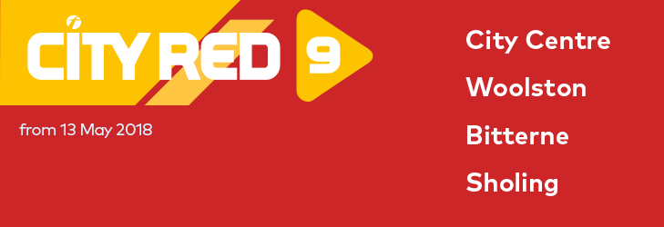 City Red 9 - from 13 May 2018