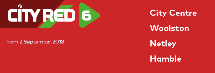 City Red 6 - from 2 September 2018