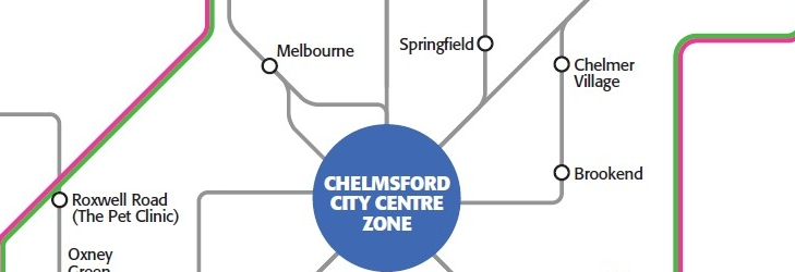 Chelmsford Zone Map