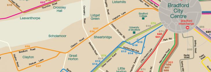 Bradford Network Map