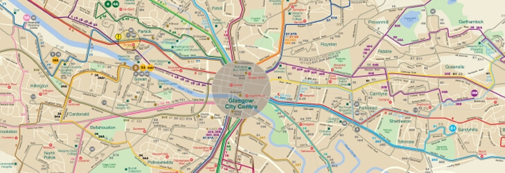 Glasgow Network Map