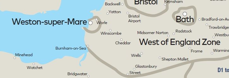 Fare Zones within the West of England