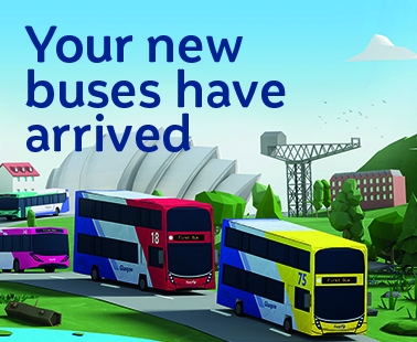 Your new buses have arrived