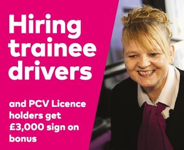 Hiring trainee drivers