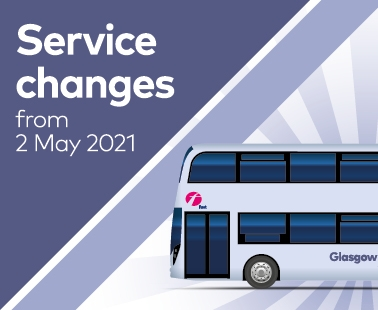 Service changes from 2 May 2021