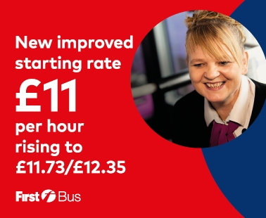 New improved starting rate £11.00
