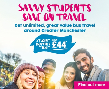 Student monthly mticket £44 a month