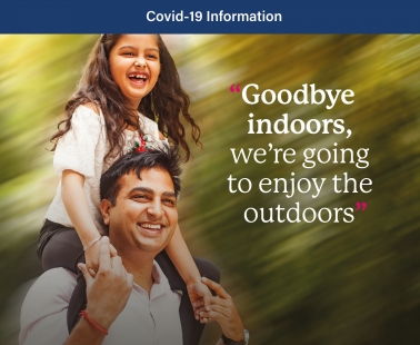 Goodbye indoors, we're going to enjoy the outdoors
