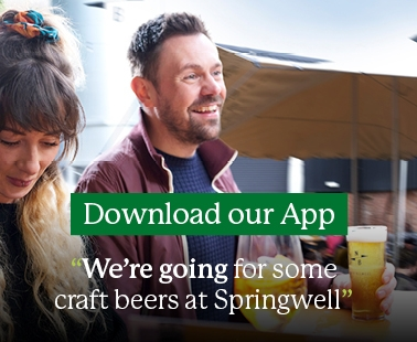 We're going for some craft beers at Springwell - Download the First Bus App