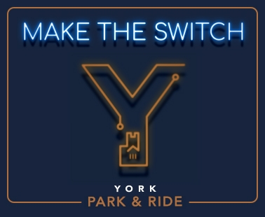 York Park & Ride Make The Switch