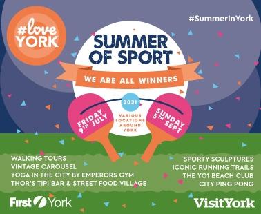 York's Summer of Sport