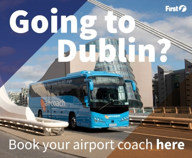 Going to Dublin? Book your airport coach here