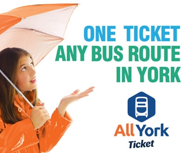 One ticket, any bus route in York