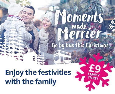 Moments made merrier with First Bus this Christmas