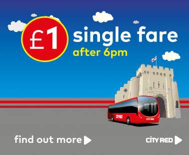 £1 single evening fare after 6pm