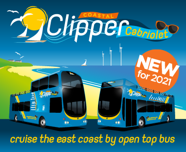 cruise the east coast by open top bus this summer