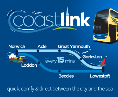 Coastlink - quick, comfy and direct between the city and the sea