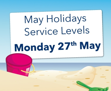 May Holiday Service Levels