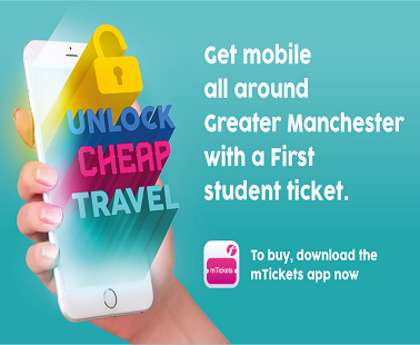 First Greater Manchester student tickets