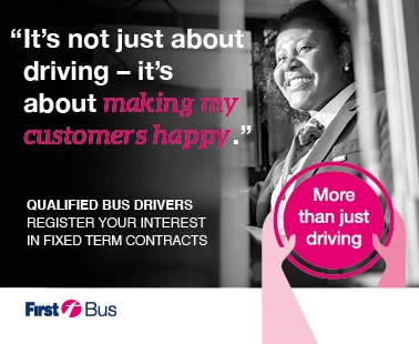 'It's not just about driving - it's about making my customers happy'.