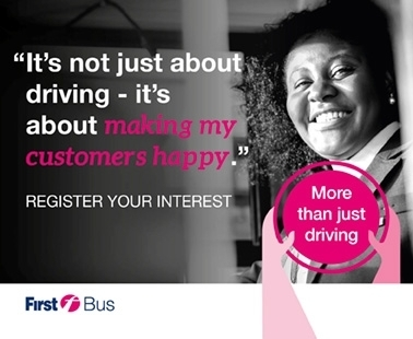 We're looking for bus drivers, qualified and trainee