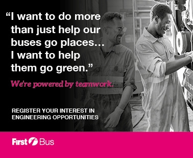 'I want to do more than just help our buses go places... I want to help them go green'.