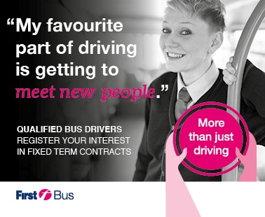 'My favourite part of driving is getting to meet new people'.