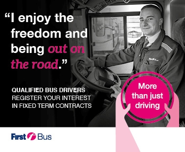 'I enjoy the freedom and being out on the road'.