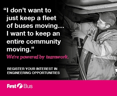 'I don't want to just keep a fleet of buses moving... I want to keep an entire community moving'.