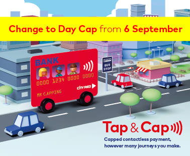 Change to Tap & Cap Day fare