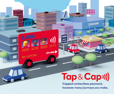 Capped contactless payment - Tap & Cap