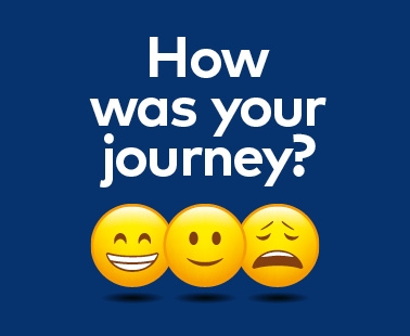 How was your journey today?