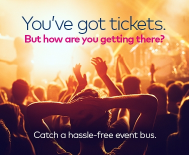 Off festival, catch the First shuttle bus