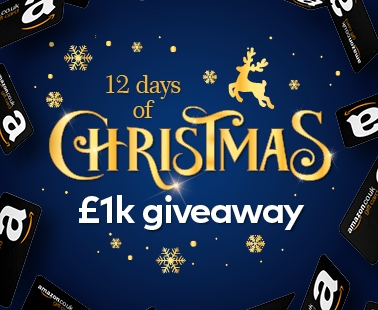 12 Days of Christmas £1K giveaway