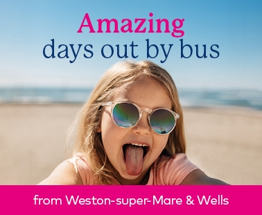 Amazing days out by bus in Weston and Wells