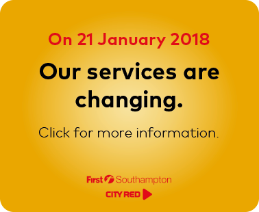 Our services are changing from 21 January 2018. Click for more information.
