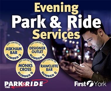 Evening Park & Ride Services 2019