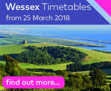 Dorset Summer Timetable Book - from 25 March 2018
