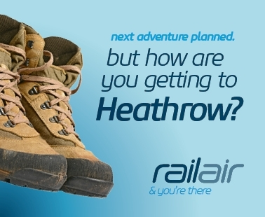 Next adventure planned, but how are you getting to Heathrow? Railair and you're there.