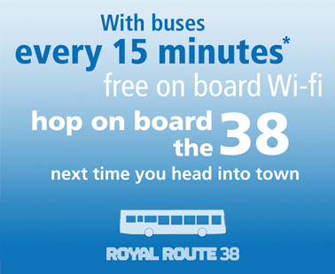Your new 38 Royal Route