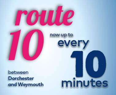 Route 10 now up to every 10 minutes