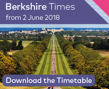 Berkshire Timetable from 3 June 2018
