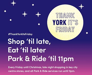 Thank York It's Friday