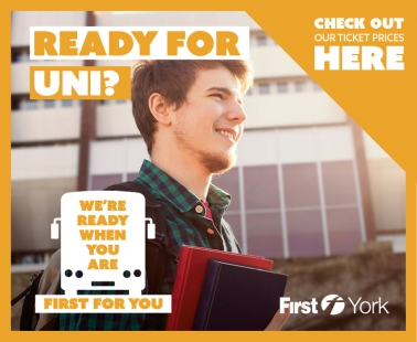 Ready for Uni? We're ready for you! Check out our ticket prices here