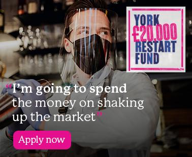 Apply for the York £20K Restart Fund!
