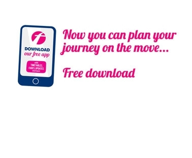 Download now and plan your journey on the move